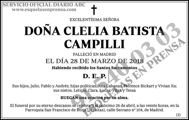 Clelia Batista Campilli